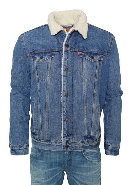 LEVI'S® Type 3 Sherpa Trucker Jacket Needle Park