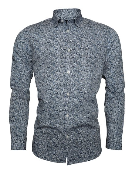 SELECTED SLHSlimneo Shirt LS AOP B