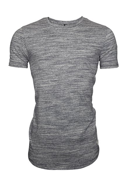 JACK & JONES JJEHugo Mel. SS Crew Neck Noos
