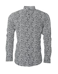 JACK & JONES JPRLuis Print Shirt L/S Plain