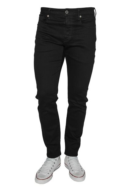 G-STAR 3301 Slim Elto Nero Pitch Black Jeans
