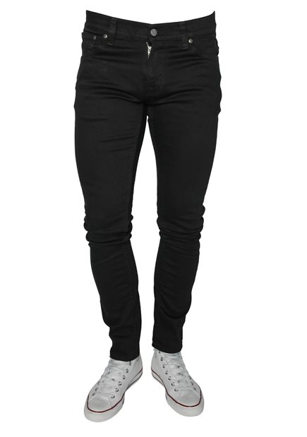 NUDIE Tight Terry Ever Black Jeans