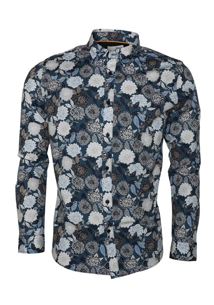 SOLID Tyler LS BU Floral Shirt