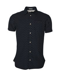 SELECTED SLHSlimMatthew Shirt SS AOP W