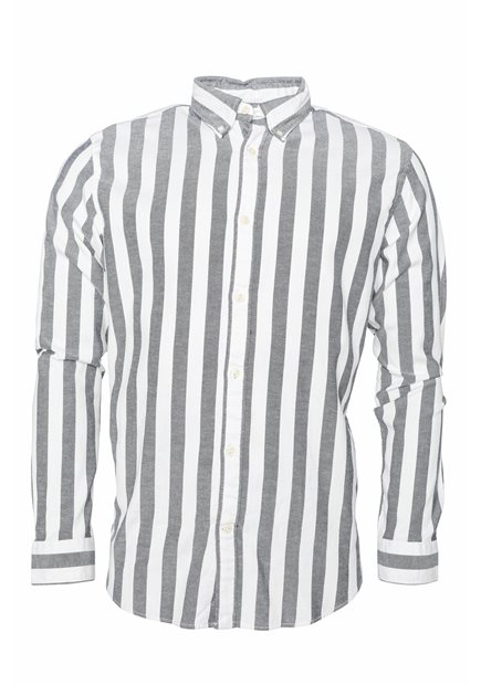 SELECTED SLHRegwide-Stripe Shirt LS W