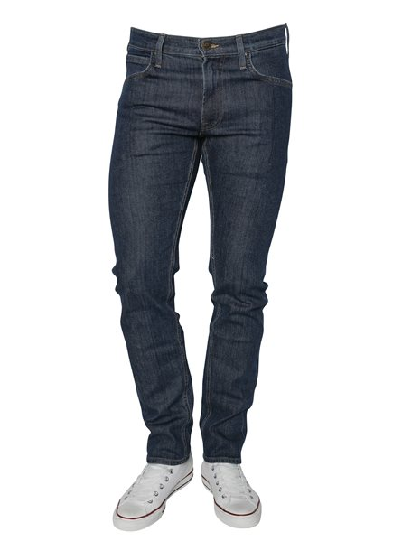 LEE Daren Zip Fly Dark Stonewash Jeans