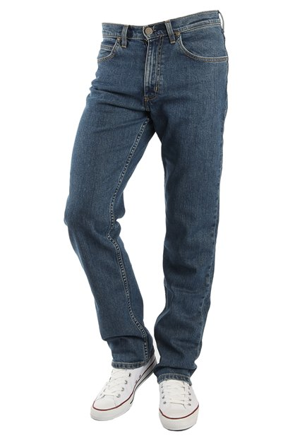 LEE Brooklyn Straight Midstone Wash Jeans
